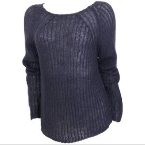 BANANA REPUBLIC MOHAIR WOOL BLEND PULLOVER SWEATER